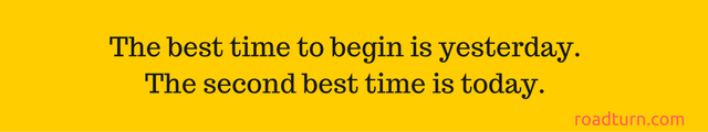 the best time to begin