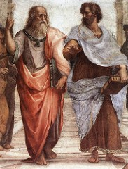 Plato and Aristotle painting