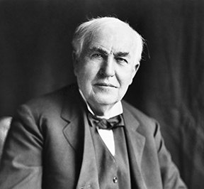 Thomas Alva Edison quote on Roadturn